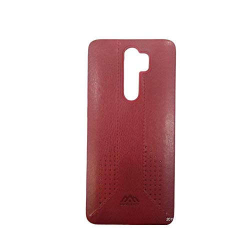 Iberry Mobile Back Case Cover for Redmi Note 8 Pro (Red)