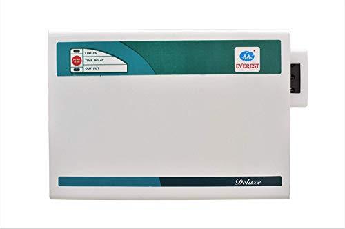 Everest 5KVA Delux Voltage Stabilizer Used Upto 2 ton AC (Working Range : 170 V to 270 V) (100% Copper)