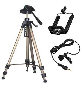 Simpex 3600 Tripod Combo Mobile Holder with Microphone