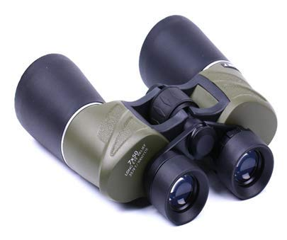 Lista Binocular 7X50 MILIATARY Black Big & Silver Lining