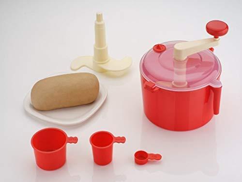 DeoDap Detachable Dough Maker Machine with Measuring Cup (Atta Maker)