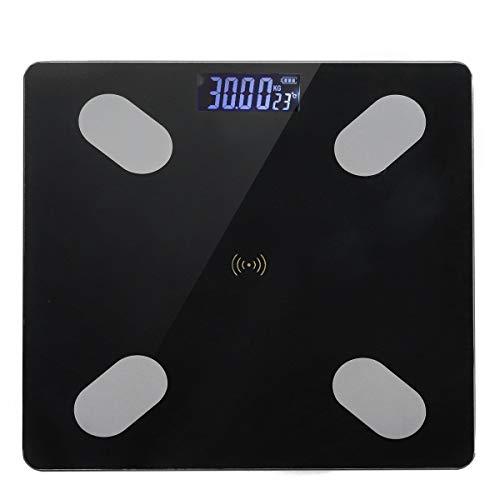 Sisliya Smart Bathroom Scale BMI Body Fat Metabolism Tracking Bluetooth (Bluetooth Scale 803)