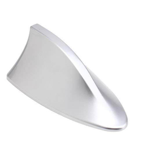 Guance Car Shark Fin Roof Antenna Car Antenna Radio FM/AM Car Accessories Decorate Silver for Maruti Suzuki Breeza 2020