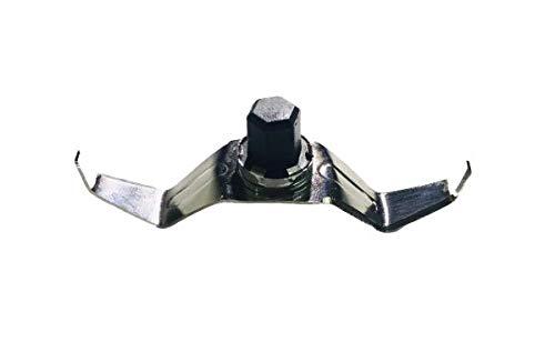 RK Blades Maharaja W-Shape BLADE, Mixer Grinder Blade 100% Stainless Steel Blade (9)