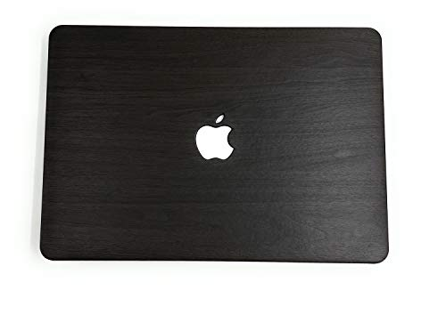 """24x7 eMall Rubberized Hard Shell Cover Compatible Old MacBook Air 13"""" (2010-2017 Release) (13 Inch Air (Old Version), Walnut Dark Wood)"""