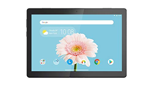 (Renewed) Lenovo Tab M10 FHD REL Tablet (10.1-inch, 32GB, WiFi + LTE + Volte Calling), Black