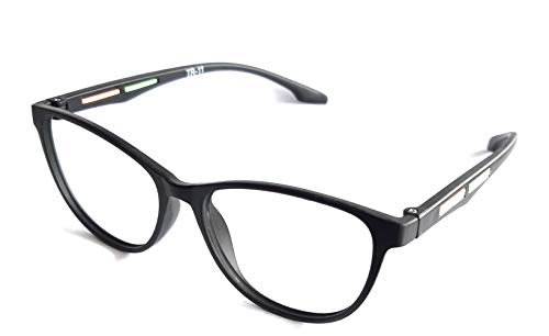 Eyewear Stylez Ultra Lightweight Cat Eyes Frame With Prescription Anti Glare Lenses Uv Protection Anti Reflection (+4.25 Sph)