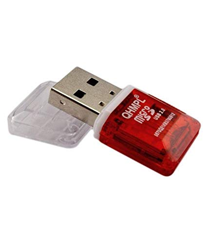 Quantum QHM5570 External Memory Card Reader (Red)