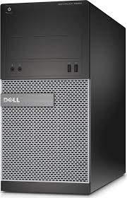 (Renewed) Dell Optiplex 3010 Desktop (Intel Core i3 2100 3.1 Ghz, 4 GB RAM/ 500 GB HDD/ Windows 10, MS Office/Intel H61 Express Chipset/USB,HDMI, Ethernet,VGA,Audio), Black