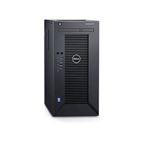 Dell 2018 Flagship PowerEdge T30 Business Mini-Tower Server System with (Intel Quad-Core Xeon E3-1225 v5 8 m Cache, 16GB UDIMM RAM, 1TB HDD, DVD+/-RW, HDMI, No OS, Black)
