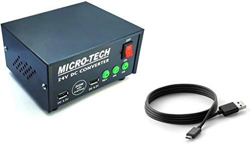 ERH INDIA Dc to Ac Converter 12v to 220v 200 Watt DC to AC Car Inverter 24v for Multiple Applications