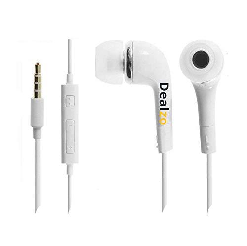 Best DEALZO Earphone for Universal Earphone with 3.5mm - White