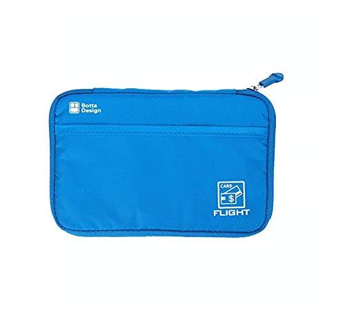 Magnusdeal Passport Wallet Portable Waterproof Travel Pouch Cards Organizer Zipper Case Phone Cash Holder