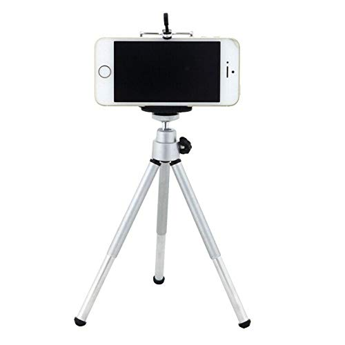ELECTROPRIME Tripod Stand Smartphone Holder with Tripod Screw Hole Compatible with iPhon Q9J9
