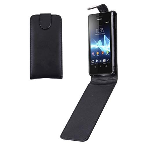 ZCLINXHEFSDSS New Cell Phone Shell Vertical Flip Soft Leather Case for Sony Xperia V / LT25i Phone Cases