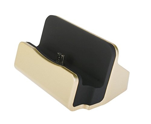 3nh Gold, usb : Base Stand Dock Micro USB Charging Station Sync Data for Galaxy S4 S5 Note 2