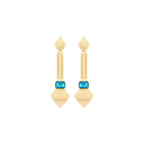 Voylla Blue Amun Funky Danglers Jewellery For Women