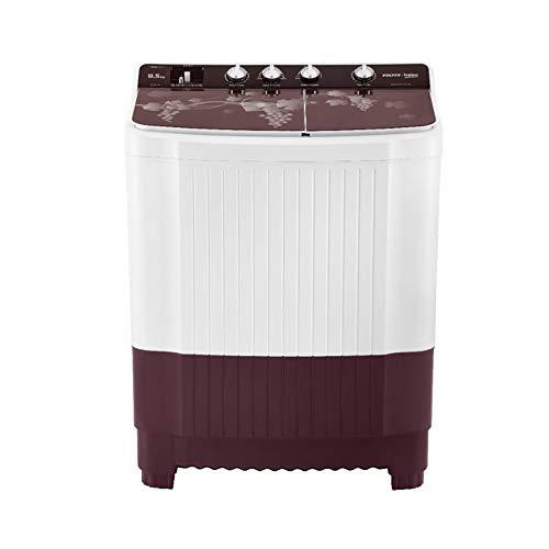 Voltas 8.5 Kg 5 Star Semi Automatic Top Loading Washing Machine (WTT85BRG,Burgundy)