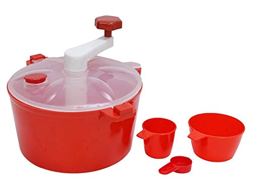 Milly Atta Maker Dough Kneader Maker Kitchen Set with Measuring Cups(Colour May Vary, 1 L)