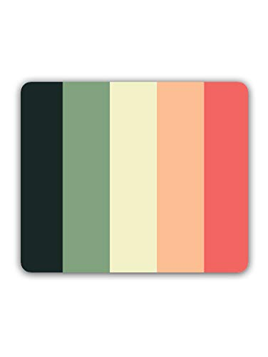 Madanyu Designer Mousepad Non-Slip Rubber Base for Gamers - HD Print - Colored Lines