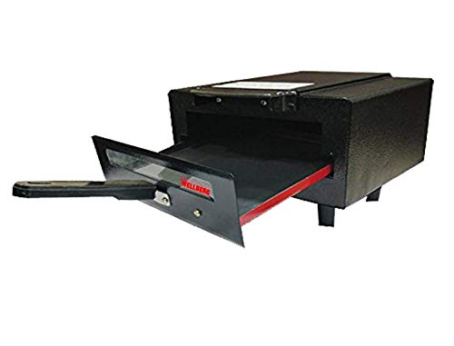 Wellberg Micro NonStick Combo Electric Tandoor with Pizza Cutter, Grill, Glove, Aluminium Tray