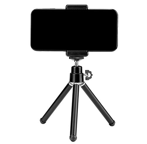Photron Stedy 150 Mini Tripod with Smartphone Holder for GoPro | Digital Camera|Travelling | Maximum Operating Height: 165mm | Weight Load Capacity: 1kg, Case Included