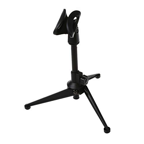 ELECTROPRIME 1X(Professional miniphone Stand Tripod with Mic Holder Clip Clamp Mount Des F4S5