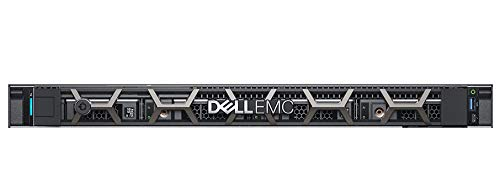 Dell PowerEdge R240 Rack Server, Intel Xeon E2124 (3.3GHz, 4Core) with 8GB RAM and 1TB SATA Hard Disk, 3 Yr. Warranty by Dell