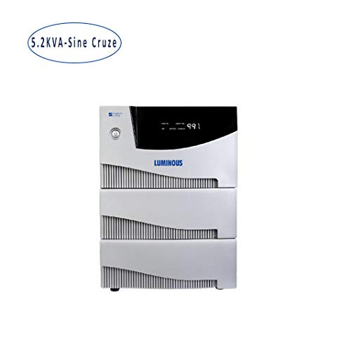 Luminous HKVA 5.2KVA Sine Cruze Wave UPS Inverter - Sine Cruze 5.2KVA Ups Invertor for Home, Office