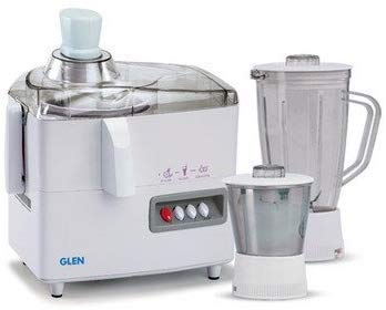 Glen GL-4010 Juicer Mixer Grinder (White)