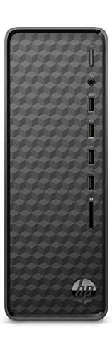 HP Slim Tower Desktop (10th Gen Intel Core i3-10100/4GB/1TB HDD/Windows 10/ MS Office/Bluetooth/WiFi/Black), S01-pf1153in