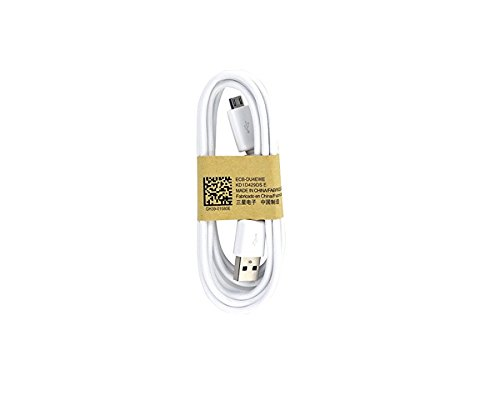 Samsung OEM 5-Feet Micro USB Data Sync Charging Cables for Galaxy S3/S4 - Non-Retail Packaging - White
