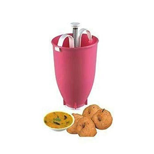 AARIKU Plastic Mini Portable Donut Mould Menduvada Maker Easy