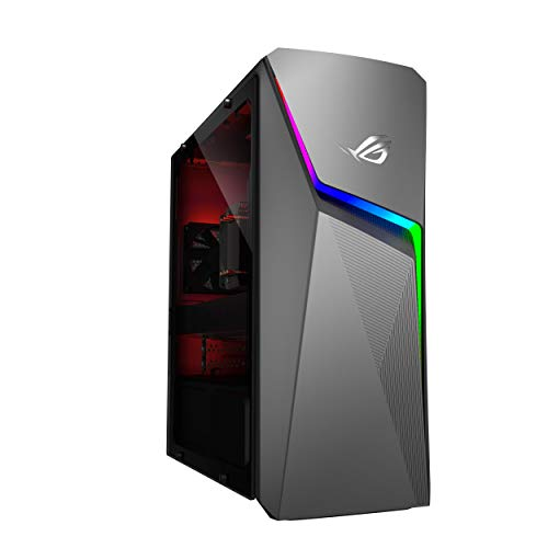 ASUS ROG Strix GL10DH GL10DH-IN016T Gaming Desktop (AMD Ryzen 7-2700/8GB RAM/512GB NVMe SSD/Windows 10/4GB NVIDIA GeForce GTX 1650 Graphics), Iron Gray