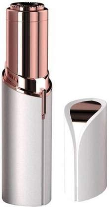 KINETICS LIGHTING Portable Eyebrow, Face, Lips, Nose Hair Removal Painless Electric Trimmer with Light for Women(Rose Gold)