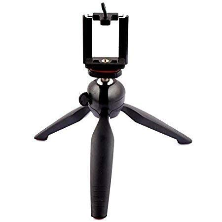 Frocel Flexible Mini Tripod for Camera, DSLR and Smartphones with Universal Mobile Attachment (Yunteng YT-228)