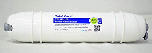 CHP Total Care TC-RO MEMBRANE-100 GPD (Concealed) || RO Membrane for All Water Purifier 100 GPD