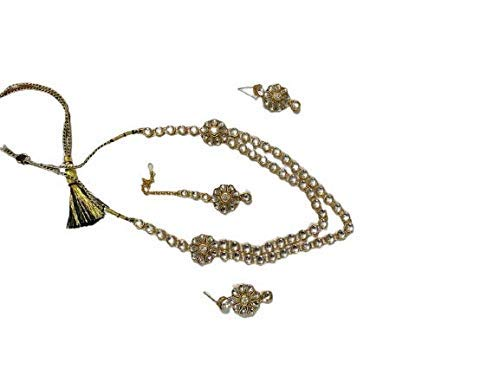 Gold-Plated Necklace Set for Women Combo of Necklace Set with Earrings Pack of 2