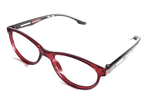 Eyewear Stylez Ultra Lightweight Cat Eyes Frame With Prescription Anti Glare Lenses Uv Protection Anti Reflection Protection From Mobile And Computer (-2.75 Sph)