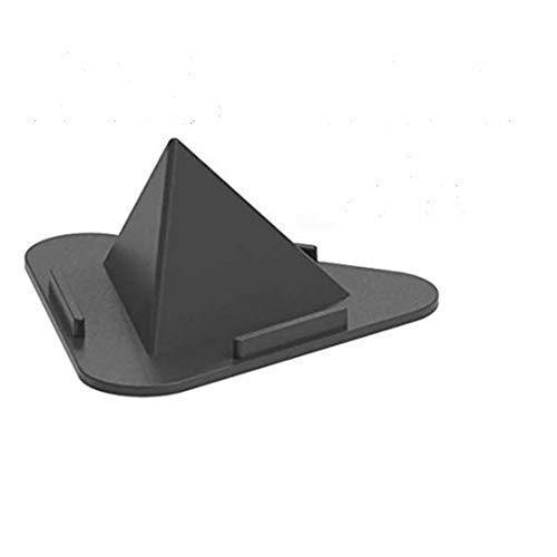 Pyramid Shape Foldable Mobile Stand - Portable Three-Sided Triangle Desktop Stand (Multi Color)