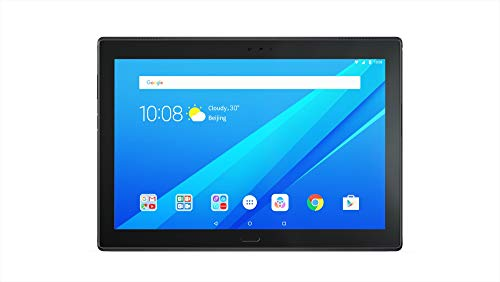 (Renewed) Lenovo Tab4 10 Plus Tablet (10.1 inch, 16GB, Wi-Fi + 4G LTE), Black