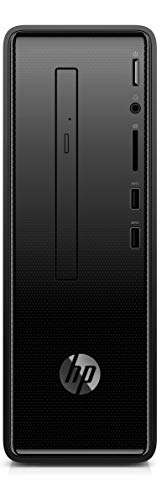 HP Slim Tower 290-p0011il (Pentium Gold G4560/4GB/1TB HDD/Free Dos 2.0/Intel HD 610 Graphics), Black