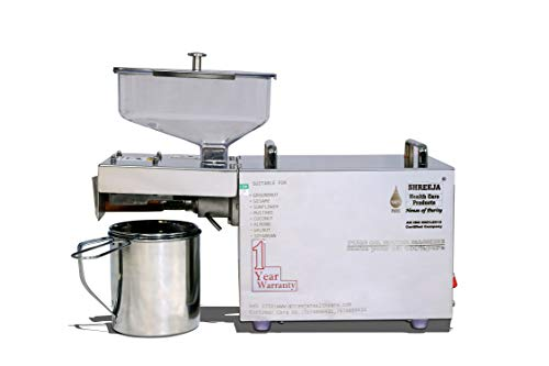 Purity Oil Maker Machine SHCP17 400 WATT - 100% Indian Manufactured by Shreeja Health Care Products