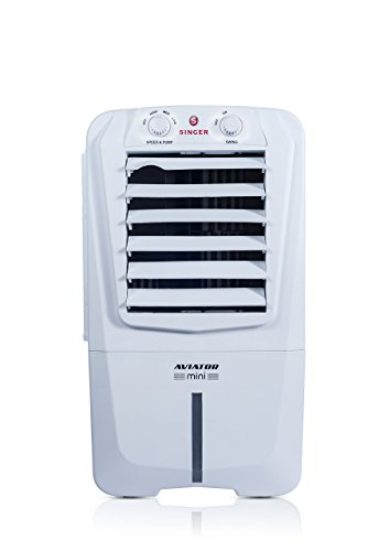 Singer Aviator Mini STC 010 AWE 10-Litre Personal Room Cooler (White)