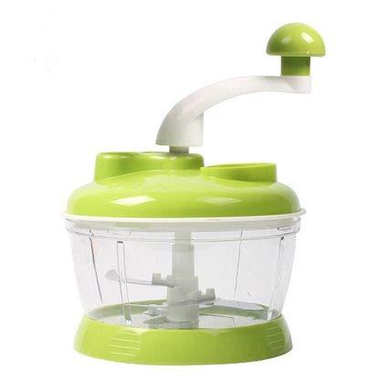 MOHAK 4 in 1 Manual Food Processor - Multi-Function Food Processor, Dough Maker, Juicer, Vegetable Cutter, Mixer