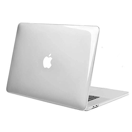 Aavjo MacBook Pro 16 inch with Touch Bar Case 2020 2019 Release Model A2141 (MVVJ2LL/A, MVVL2LL/A, MVVK2LL/A, MVVM2LL/A) Soft Touch Plastic Hard Shell (Clear)
