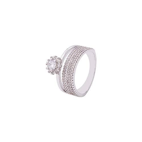 Voylla Layered Style Band Ring