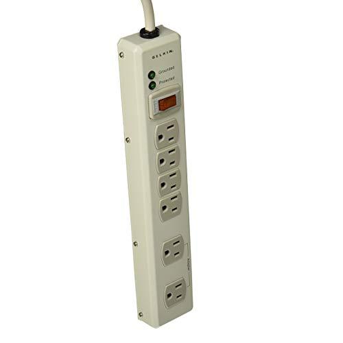 Belkin Srg Prtctr In Dsp PCK 6OT METAL 885JLS 15 Cord Discontinued by Manufacturer