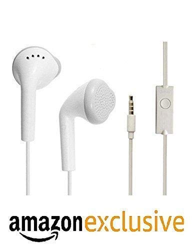 RunSale Earphone Headphone for Redmi 3 | Redmi Note 2 | Redmi 3 | Redmi 4A (3.5mm Jack, White)