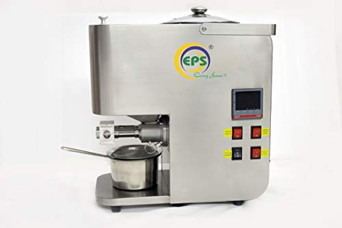 EPS WITH WORD CARING SUTURE !!! EPS Organic Oil Press Machine with Roaster 1000 W Stainless Steel